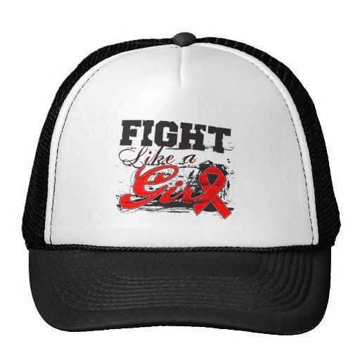 Fight Like a Girl Spray Paint - Stroke Disease Trucker Hat