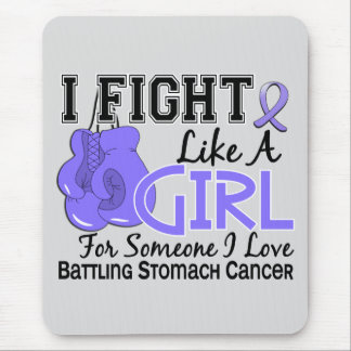 Fight Like A Girl Stomach Cancer 15.6 Mousepads