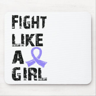 Fight Like A Girl Stomach Cancer 21.8 Mouse Pads