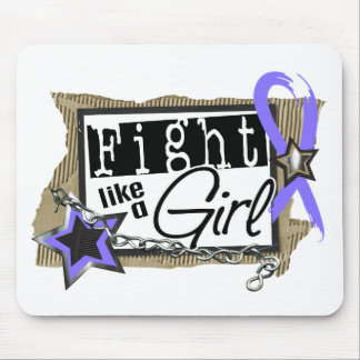 Fight Like A Girl Stomach Cancer 24.8 Mousepad