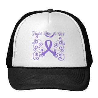 Fight Like A Girl Stylish Hodgkin's Lymphoma Hat