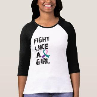 Fight Like A Girl Thyroid Cancer 21 8 Shirts