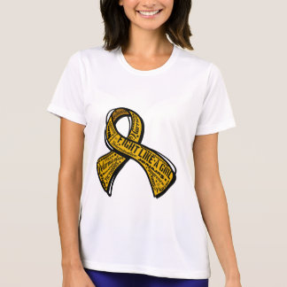 Fight Like a Girl Watermark - Appendix Cancer Shirts