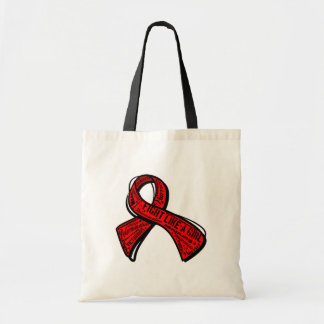 Fight Like a Girl Watermark - Blood Cancer Canvas Bags