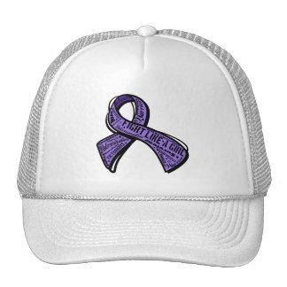 Fight Like a Girl Watermark - Hodgkin's Lymphoma Trucker Hat