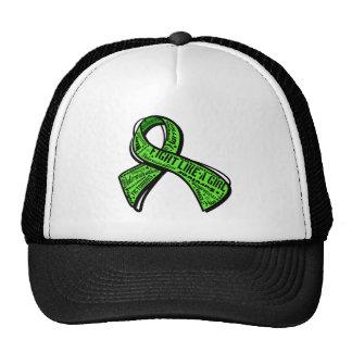 Fight Like a Girl Watermark - Lyme Disease Hat