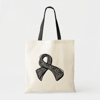 Fight Like a Girl Watermark - Parkinson's Disease Tote Bag