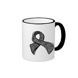 Fight Like a Girl Watermark - Parkinson's Disease Mug