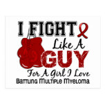 Fight Like A Guy Multiple Myeloma 15 Post Cards