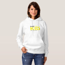 Fight Like A Kid Childhood Cancer Awareness Hoodie