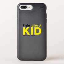 Fight Like A Kid Childhood Cancer Awareness Speck iPhone Case