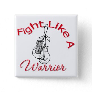 Fight Like A Warrior Lung Cancer button