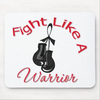 Fight Like A Warrior Melanoma Mouse Pad