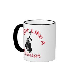Fight Like A Warrior Melanoma mug