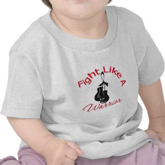 Fight Like A Warrior Melanoma Shirt