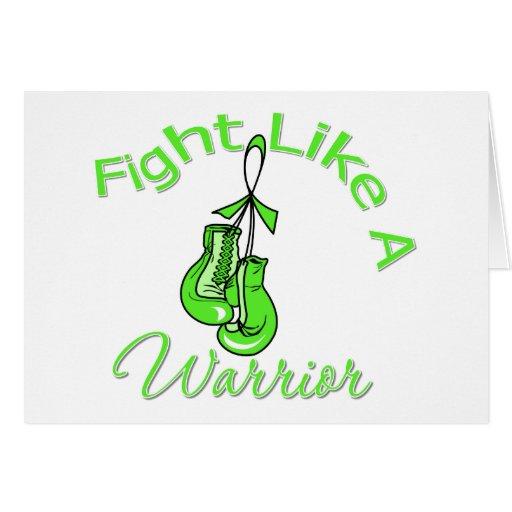 Fight Like A Warrior Non-Hodgkin's Lymphoma Cards