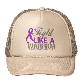 Fight Like a Warrior Pancreatic Cancer Trucker Hats