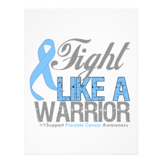 Fight Like a Warrior Prostate Cancer Flyers