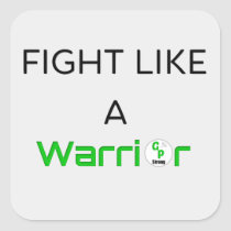 Fight Like A Warrior Sticker