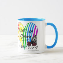 Fight Like a Zebra Ehlers-Danlos Awareness (mug) Mug