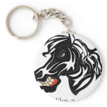 Fight Like a Zebra.png Keychain