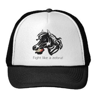 Fight Like a Zebra.png Trucker Hat