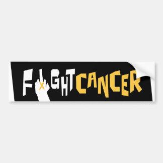 Fight Liver Cancer Bumper Sticker