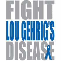 Fight Lou Gehrig's Disease Cutout