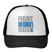 Fight Lou Gehrig's Disease Trucker Hat