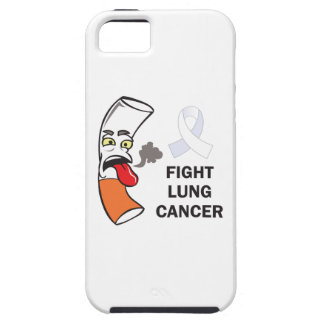 FIGHT LUNG CANCER iPhone 5 COVERS