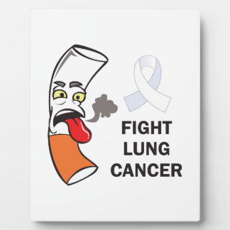 FIGHT LUNG CANCER PLAQUE