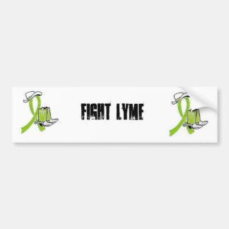 Fight Lyme Bumper Sticker Car Bumper Sticker
