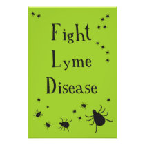 Fight Lyme poster