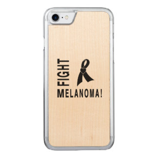 Fight Melanoma Carved iPhone 8/7 Case