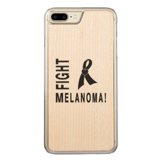 Fight Melanoma Carved iPhone 8 Plus/7 Plus Case