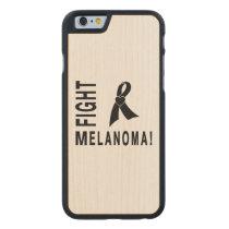 Fight Melanoma Carved Maple iPhone 6 Slim Case