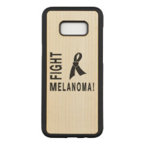 Fight Melanoma Carved Samsung Galaxy S8  Case