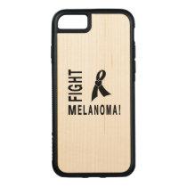 Fight Melanoma Carved iPhone 8/7 Case