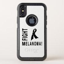 Fight Melanoma OtterBox Commuter iPhone X Case