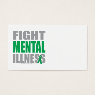 Fight Mental Illness Business Card
