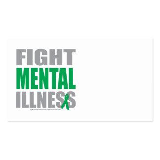 Fight Mental Illness Business Card Templates