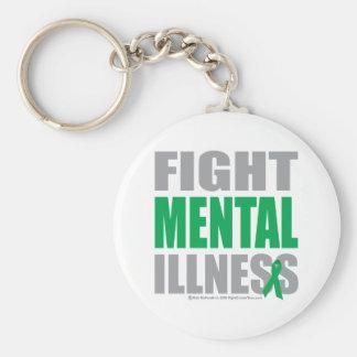 Fight Mental Illness Key Chains