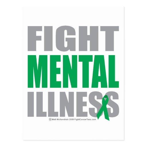 Fight Mental Illness Postcard