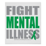 Fight Mental Illness Poster