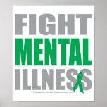 Fight Mental Illness Poster