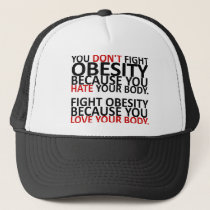 Fight Obesity Trucker Hat