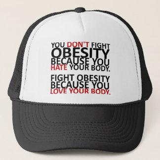 Fight Obesity Trucker Hat
