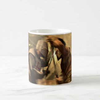 Fight of a Templers during crusades Coffee Mug