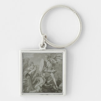 Fight of Achilles with the River Scamander Keychain