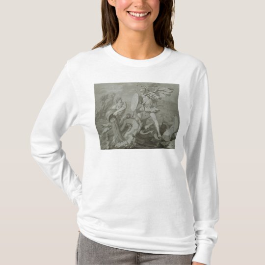 Fight of Achilles with the River Scamander T-Shirt